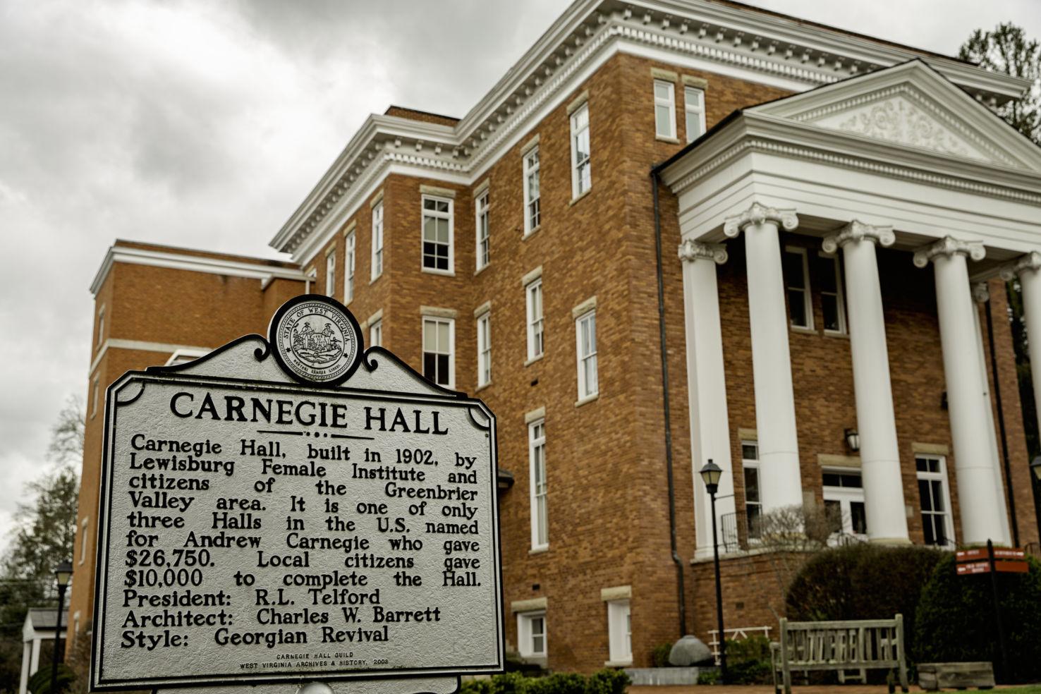 Carnegie Hall, Lewisburg, WV