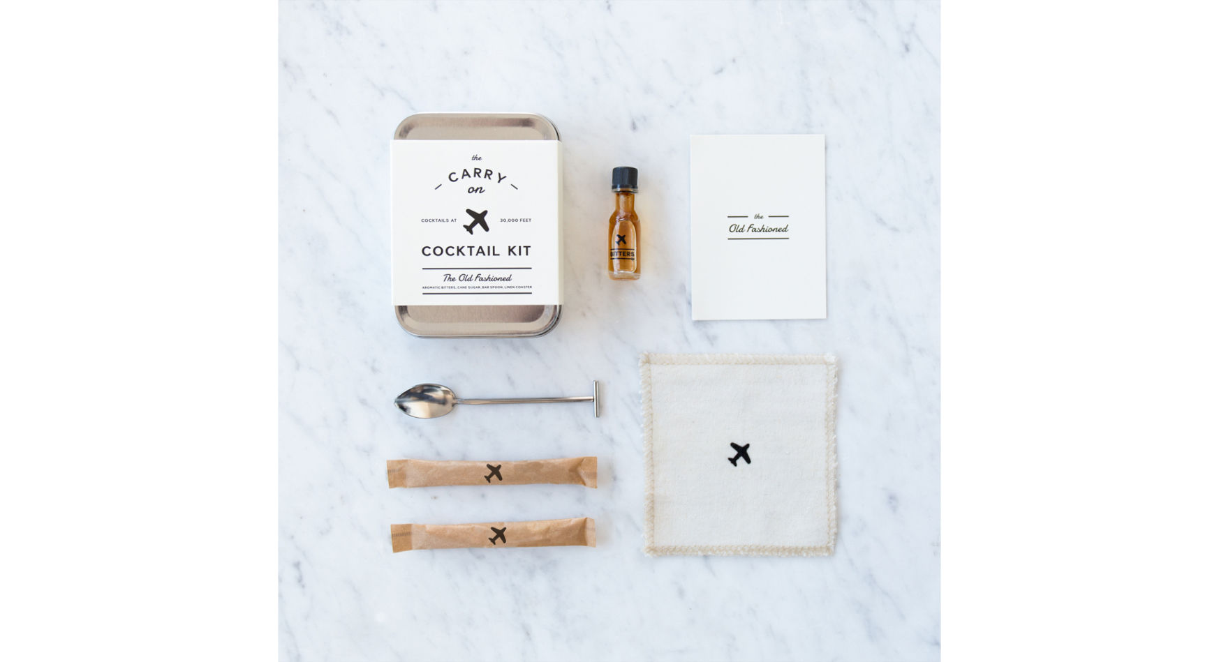 Kit to make cocktails