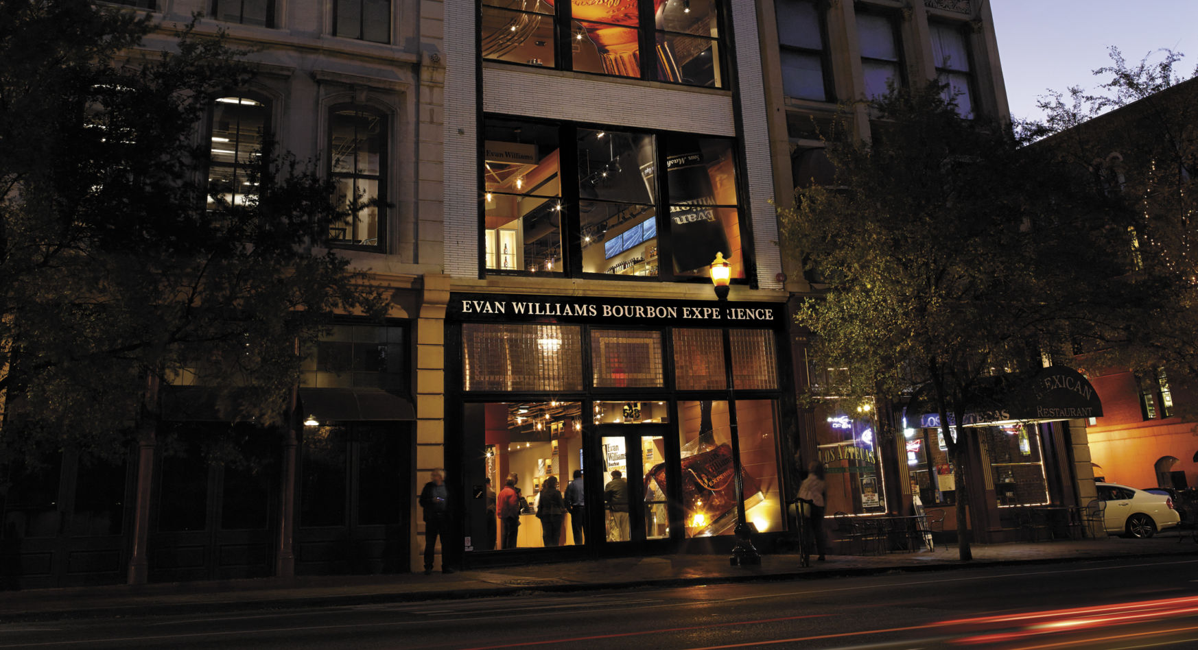 Evan Williams Bourbon Experience night
