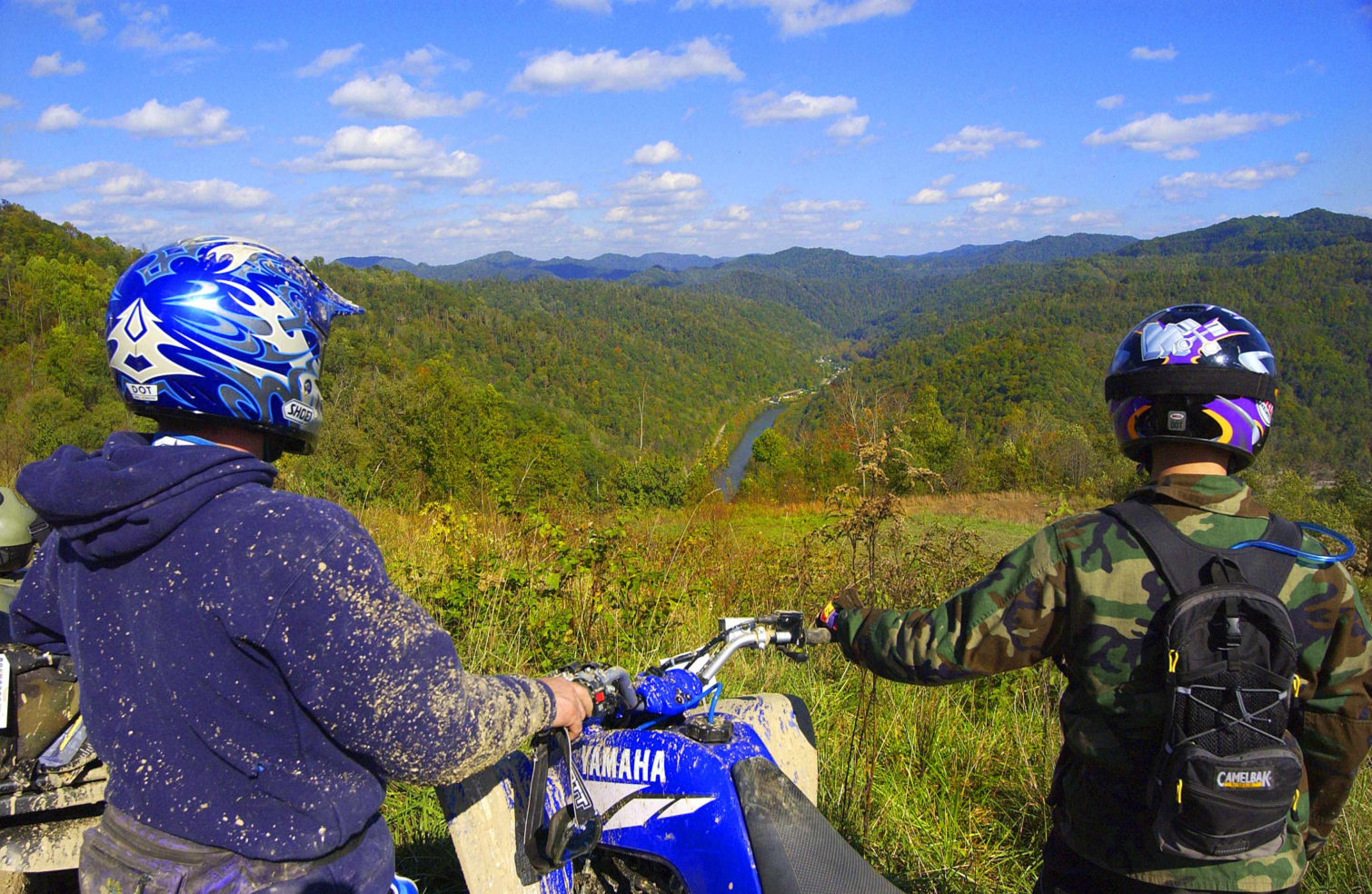 ATV Trails. Hatfield & McCoy, West Virginia