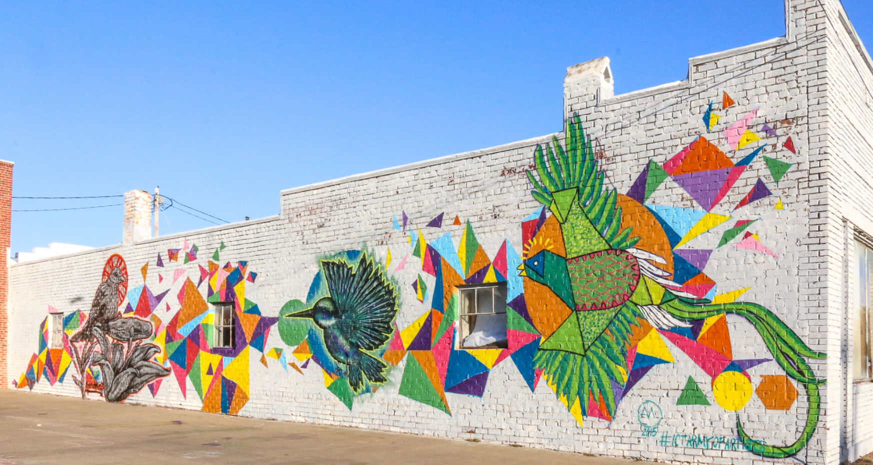 Wichita, Kansas murals