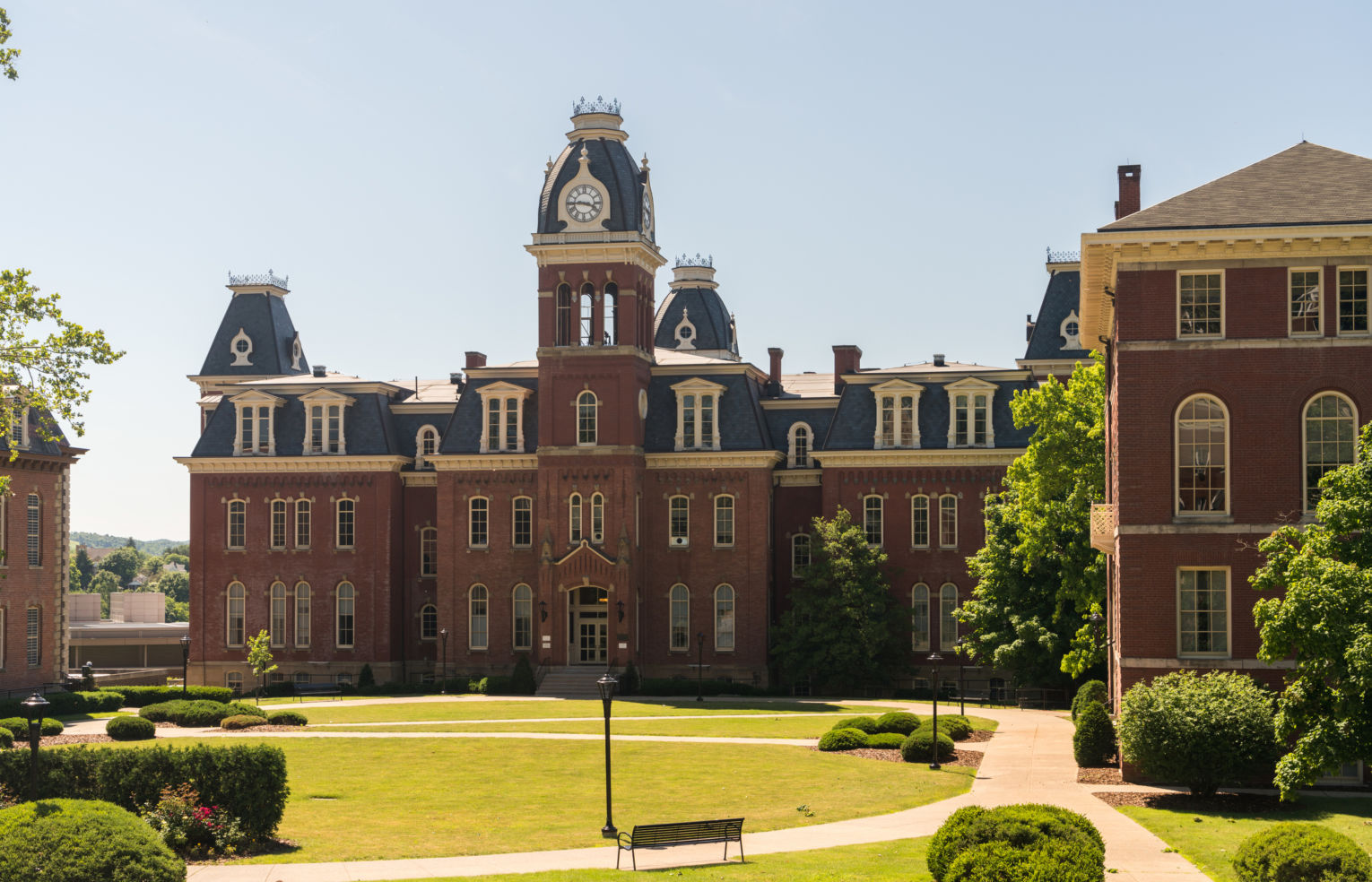 Woodburn Hall, West Virginia University in Morgantown