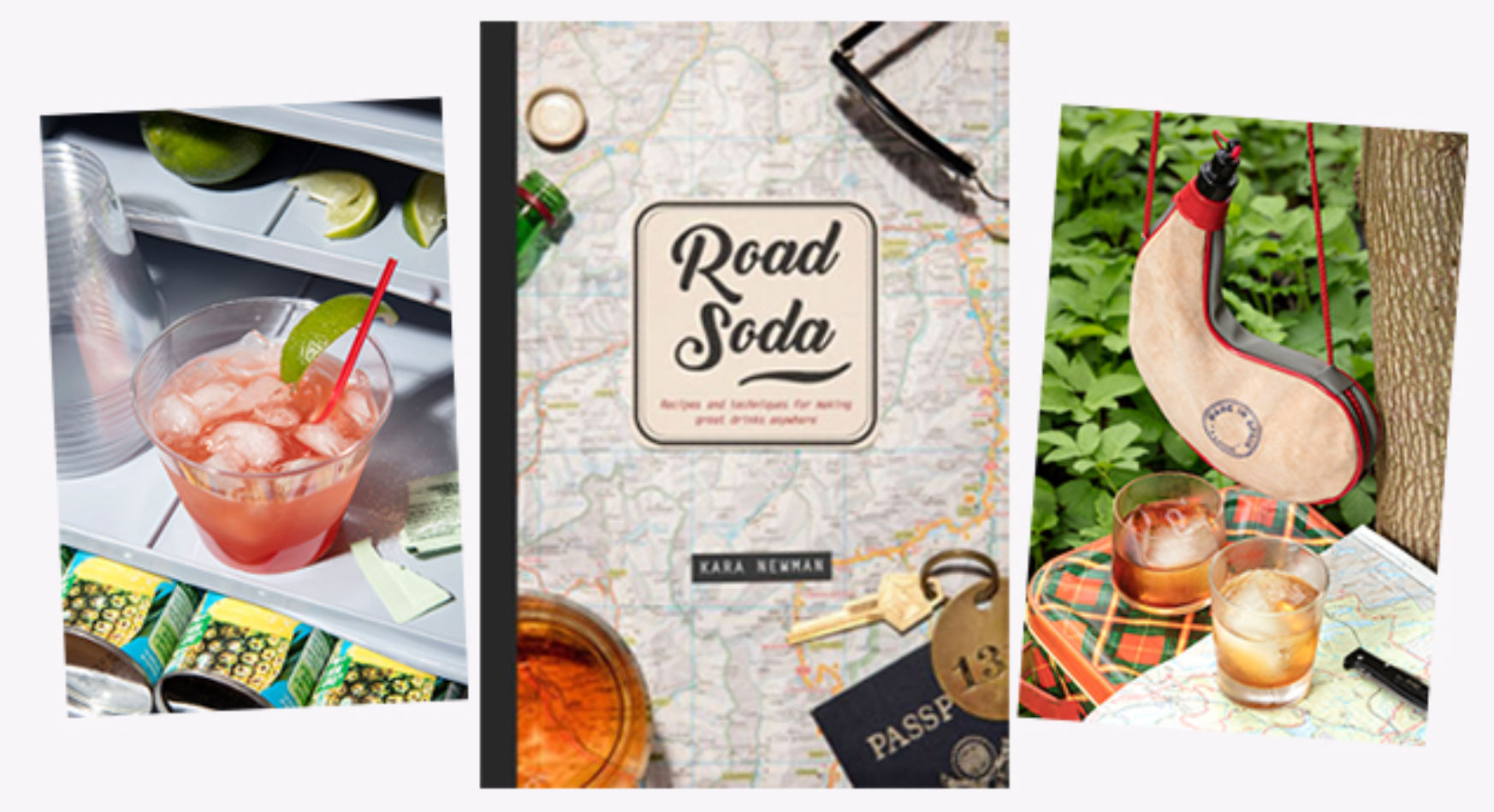 Road Soda cocktail book