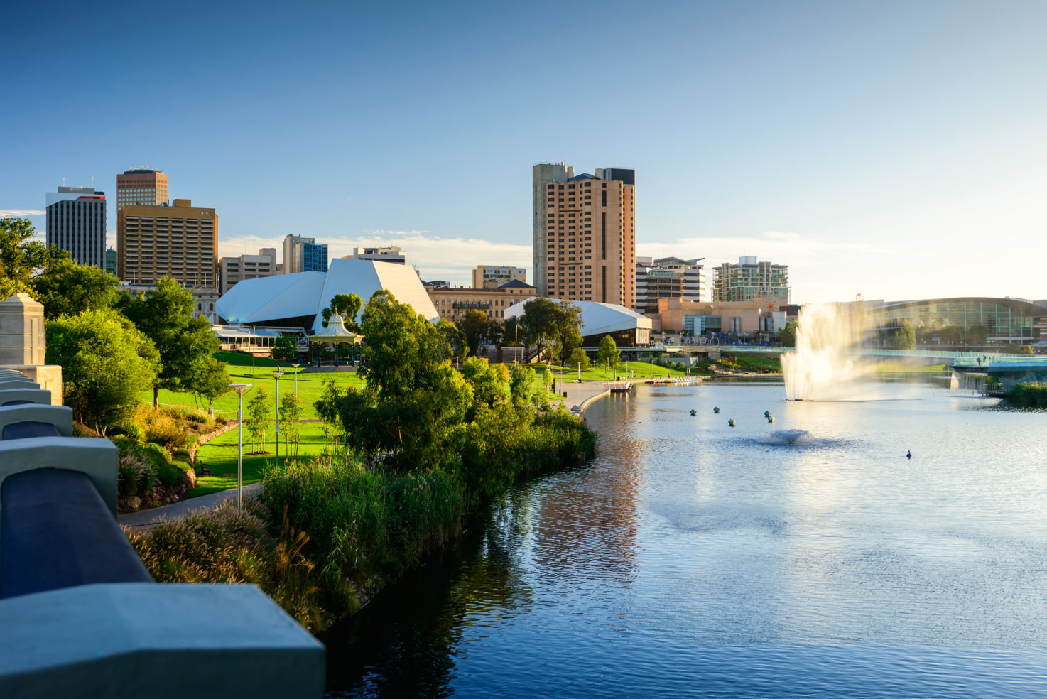In 2013 Adelaide was ranked as the fifth-most liveable city in the world.