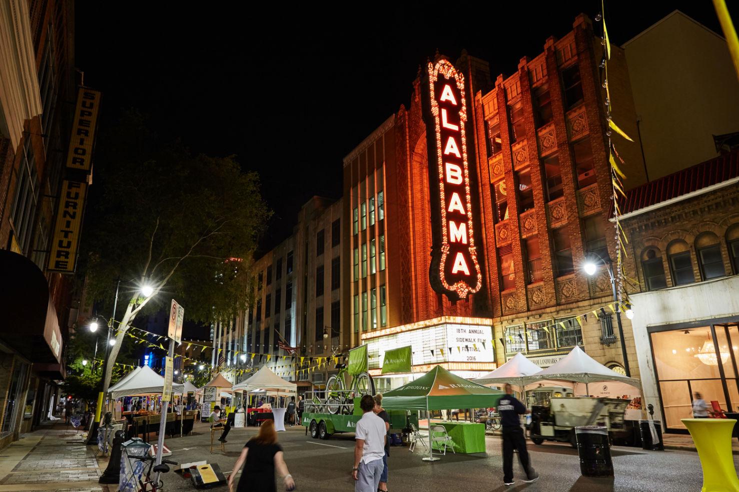Albama Theater. Architecture. Birmingham, AL