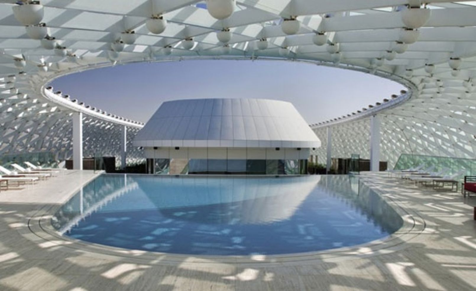 pool at YAS Viceroy Hotel