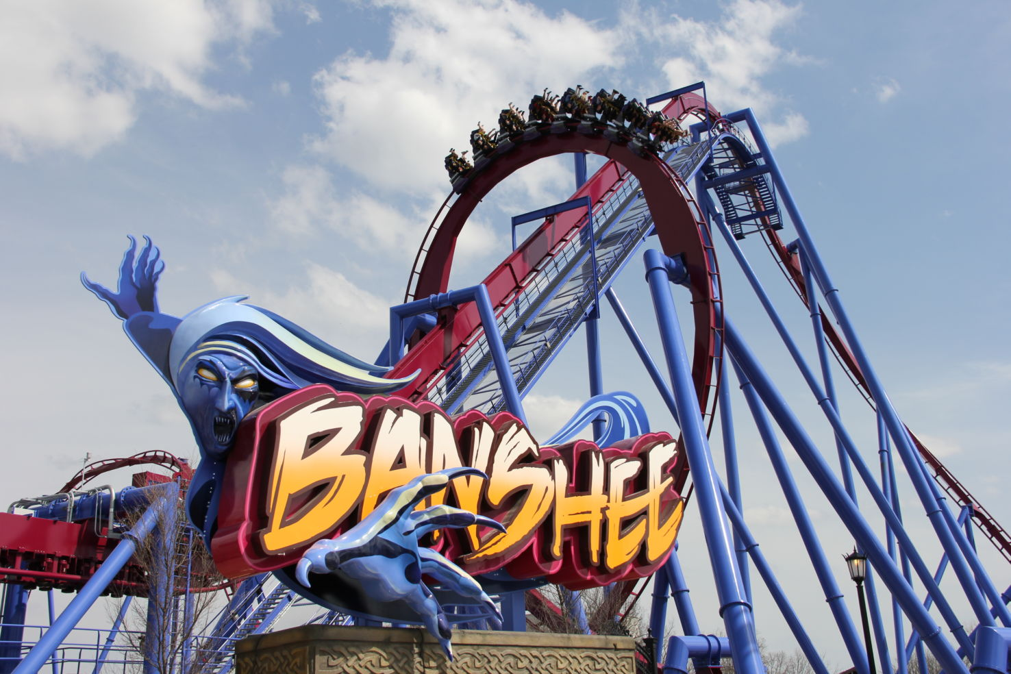 Banshee at Kings Island in Ohio