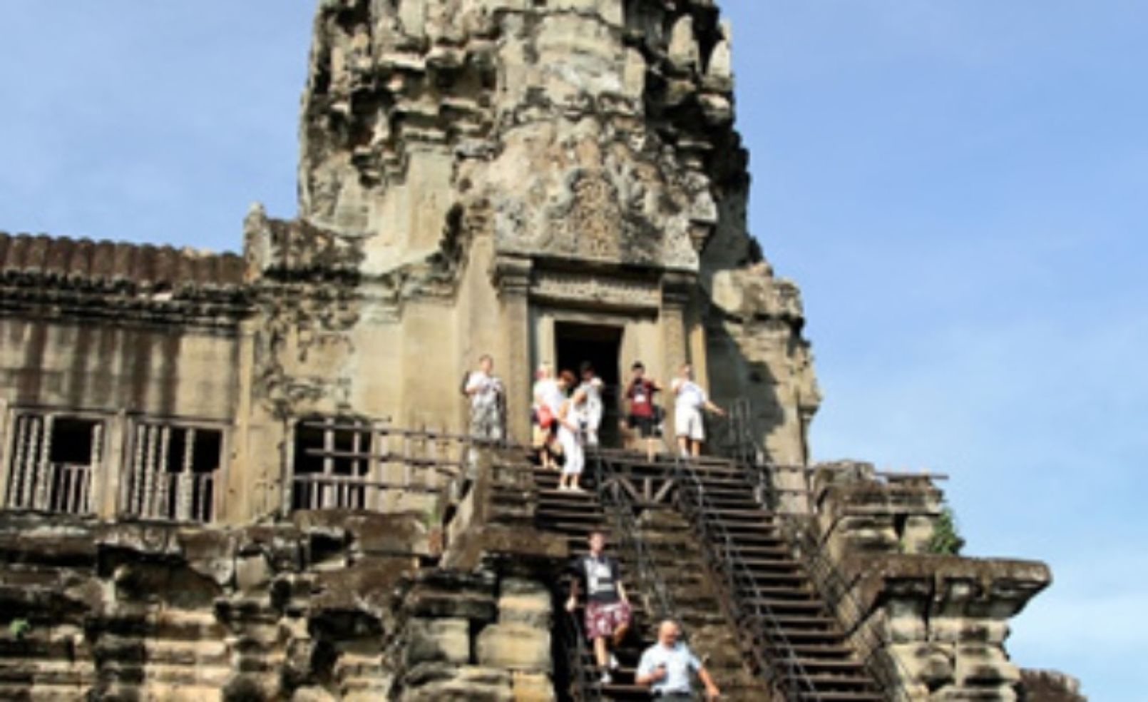 Steps at Angkor Wat
