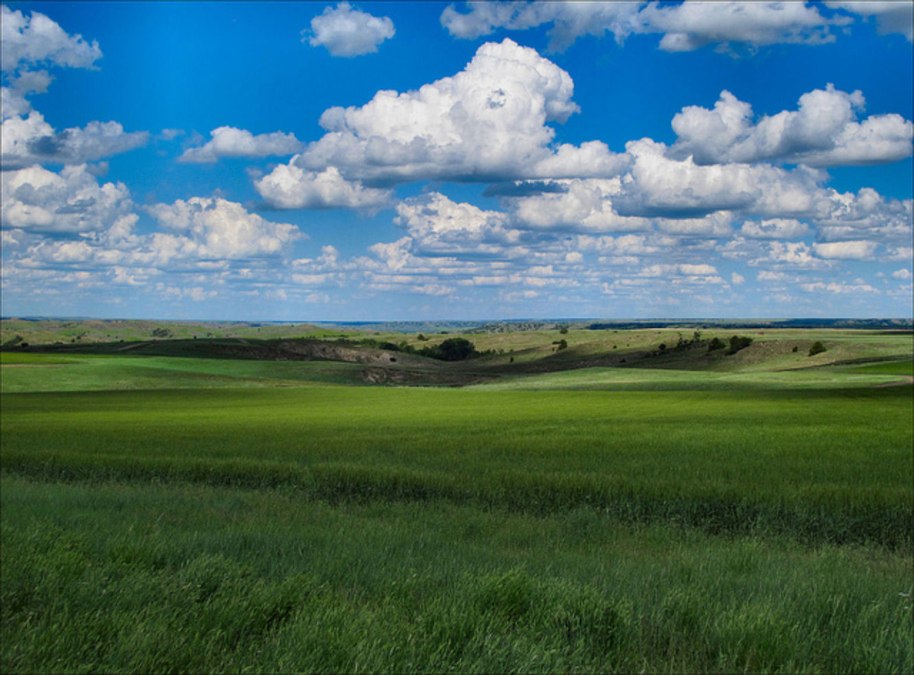 The plains of South Dakota