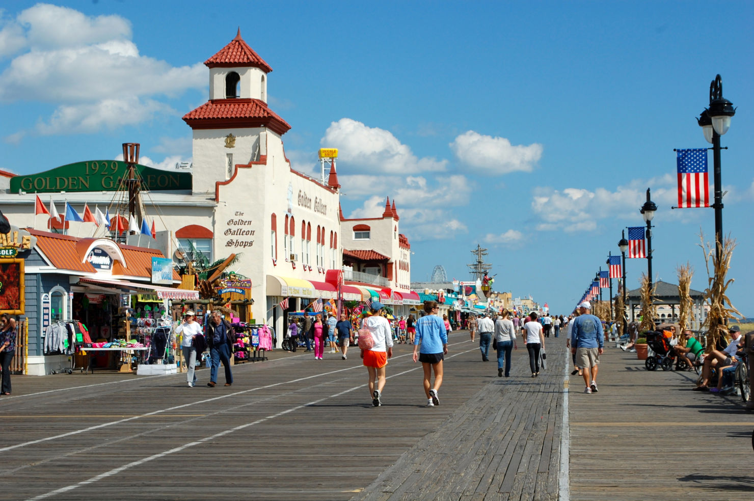 Does Long Beach Island New Jersey Have A Boardwalk