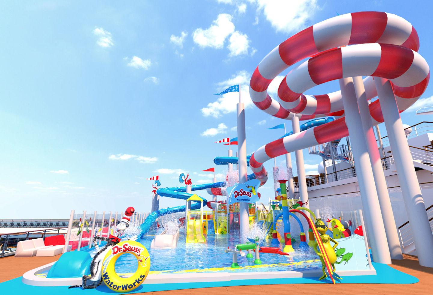 Carnival Horizon Seuss Waterworks Park