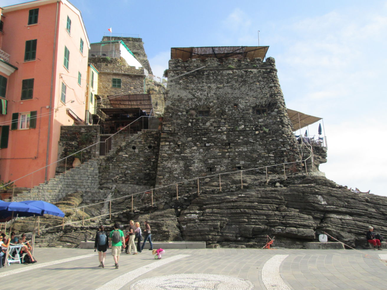 Vernazza's Castle