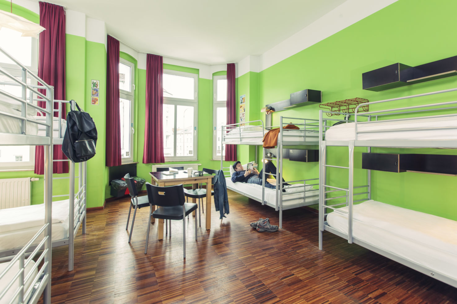 swanky hostels from 11 night really budget travel. Black Bedroom Furniture Sets. Home Design Ideas