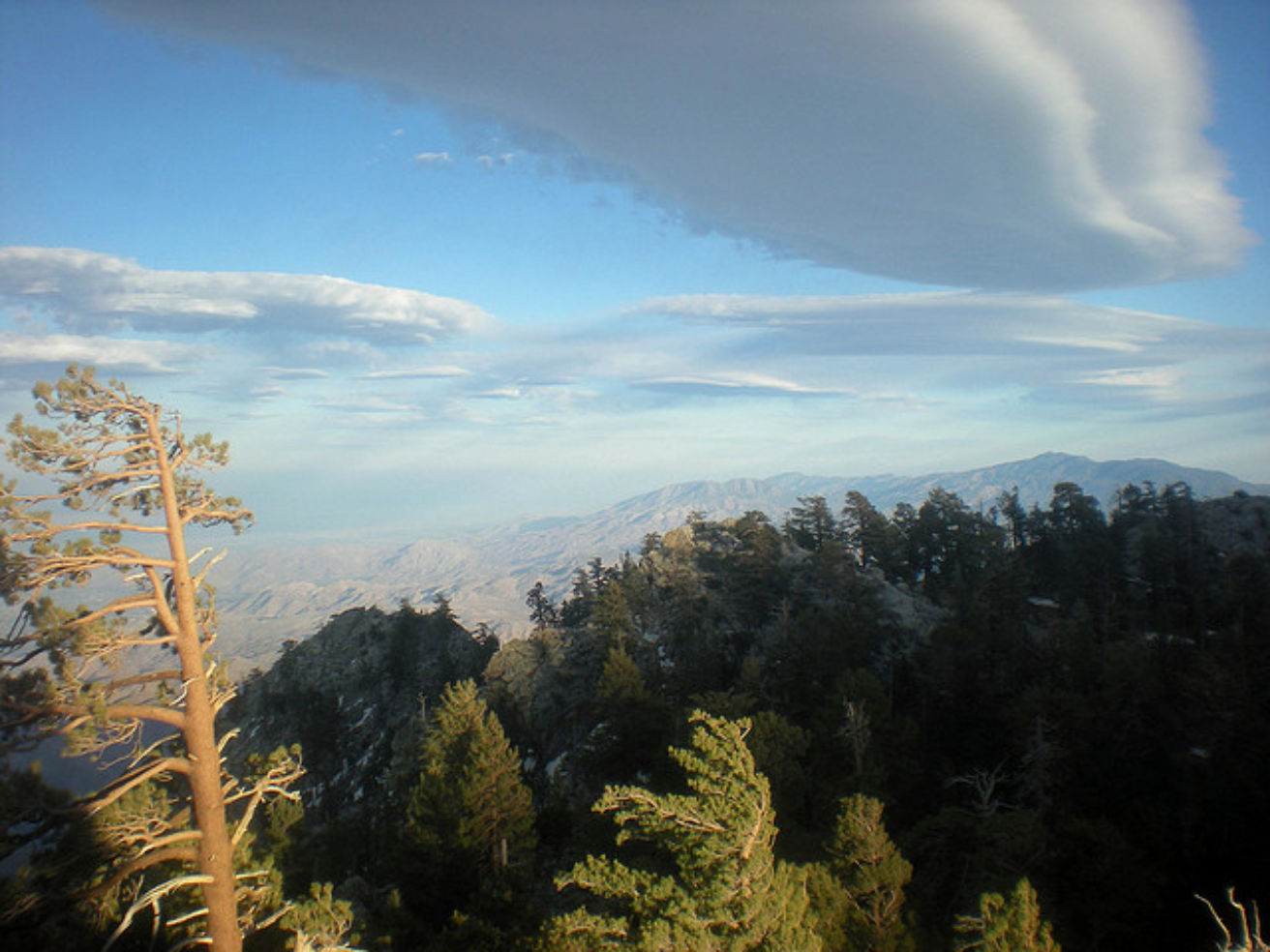 Clouds from the Palm Springs Aerial Tram