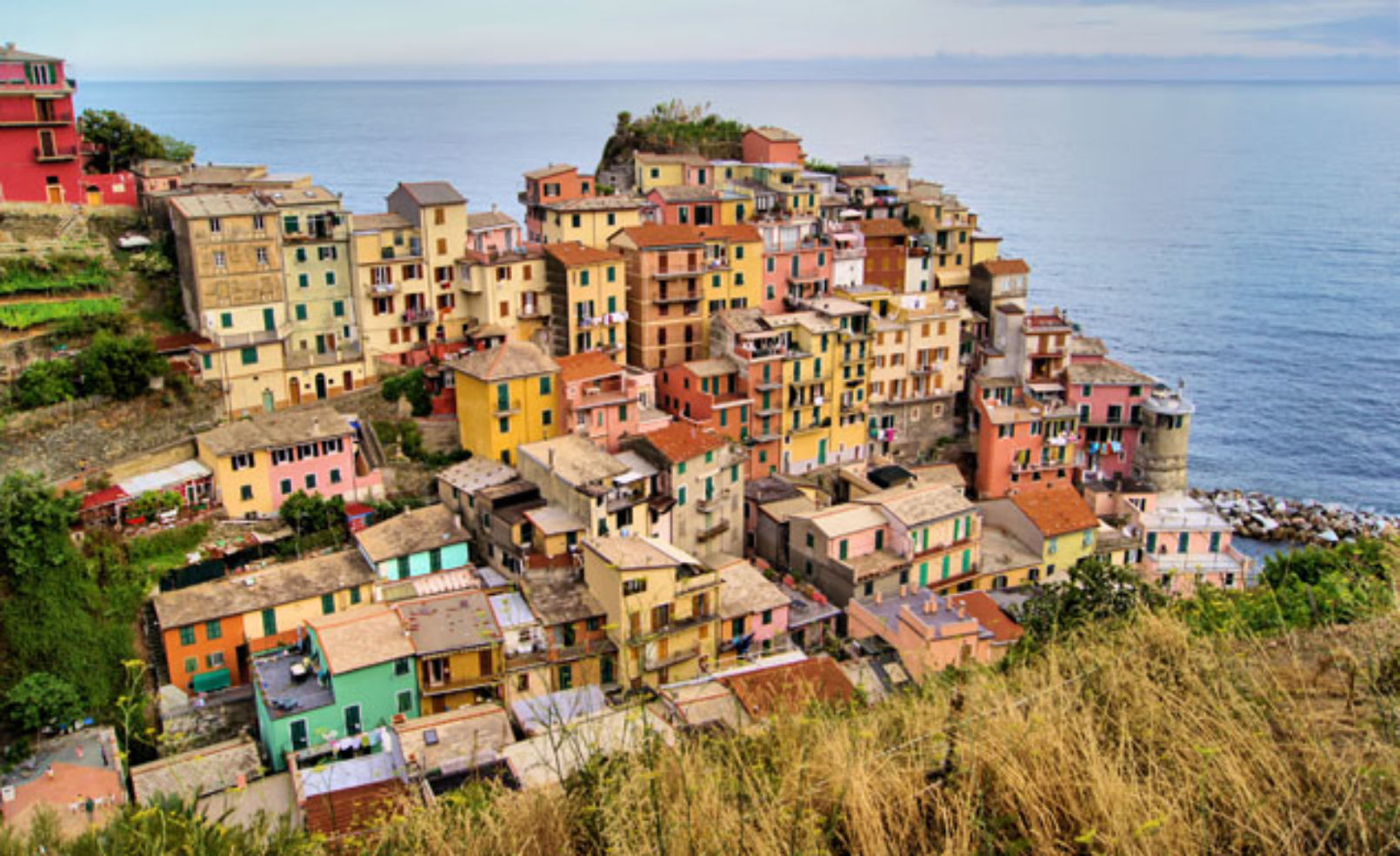 color in Manarola