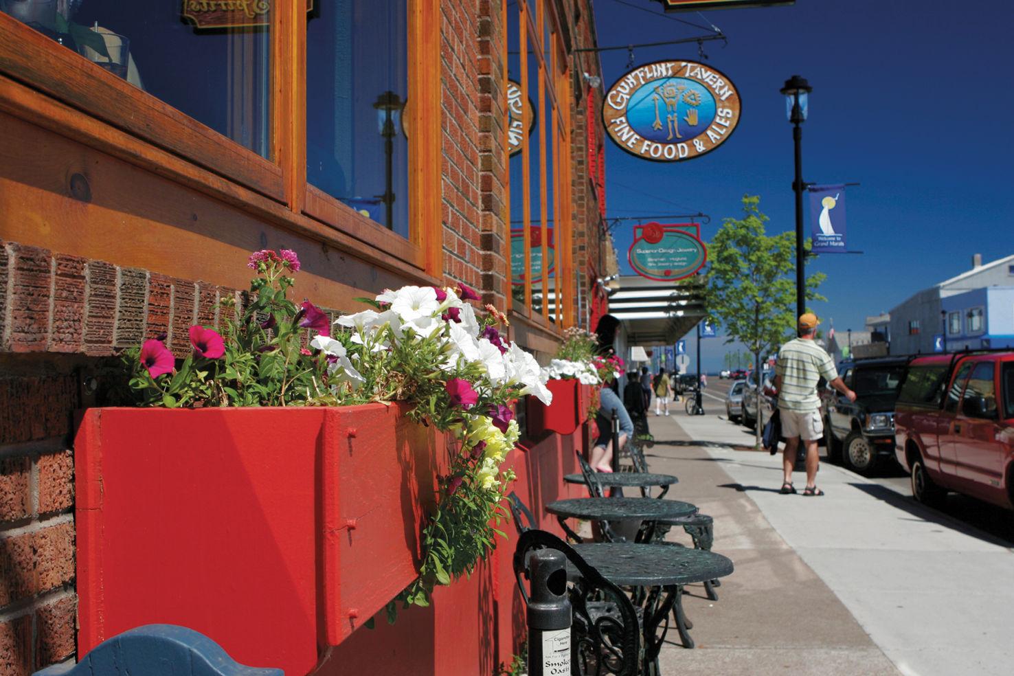 Downtown Grand Marais, MN