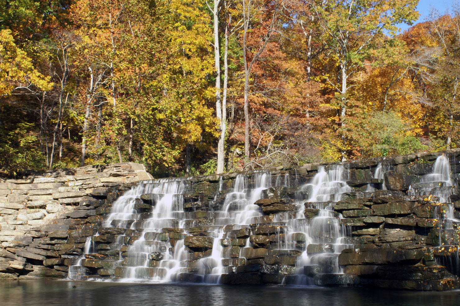 Devil's Den State Park, Waterfall, Arkansas