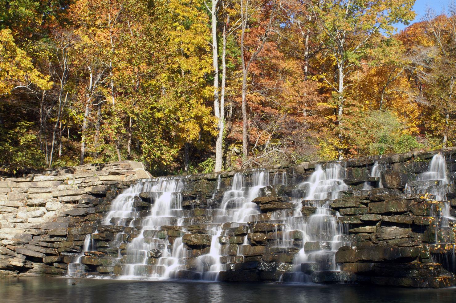 Devil's Den State Park, Waterfall, Arkansas