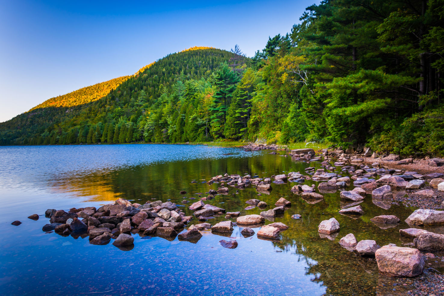 Bubble Pond, Acadia National Park, Maine