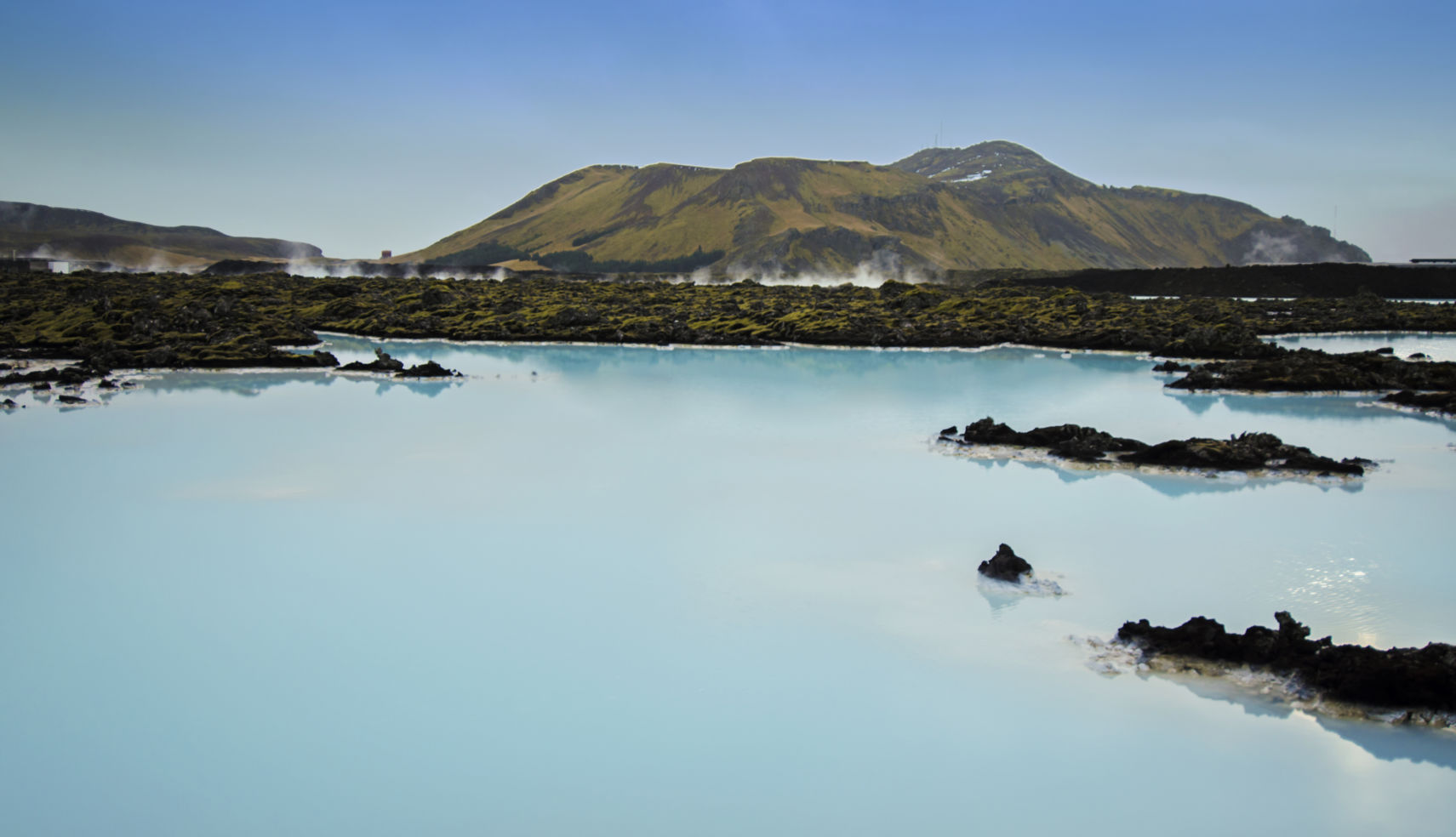 Geothermal waters, Blue Lagoon, Iceland