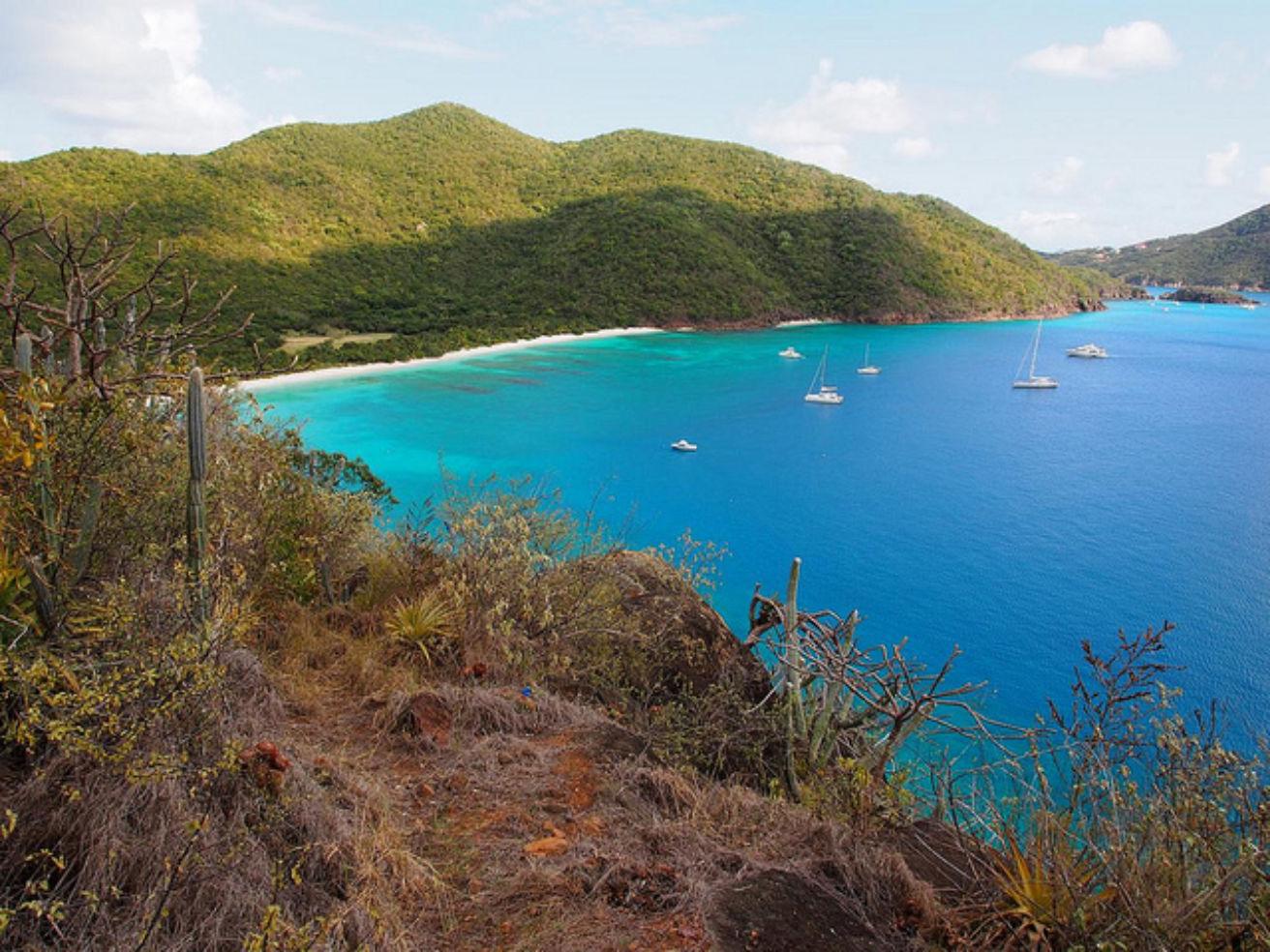 Guana Island in the British Virgin Islands