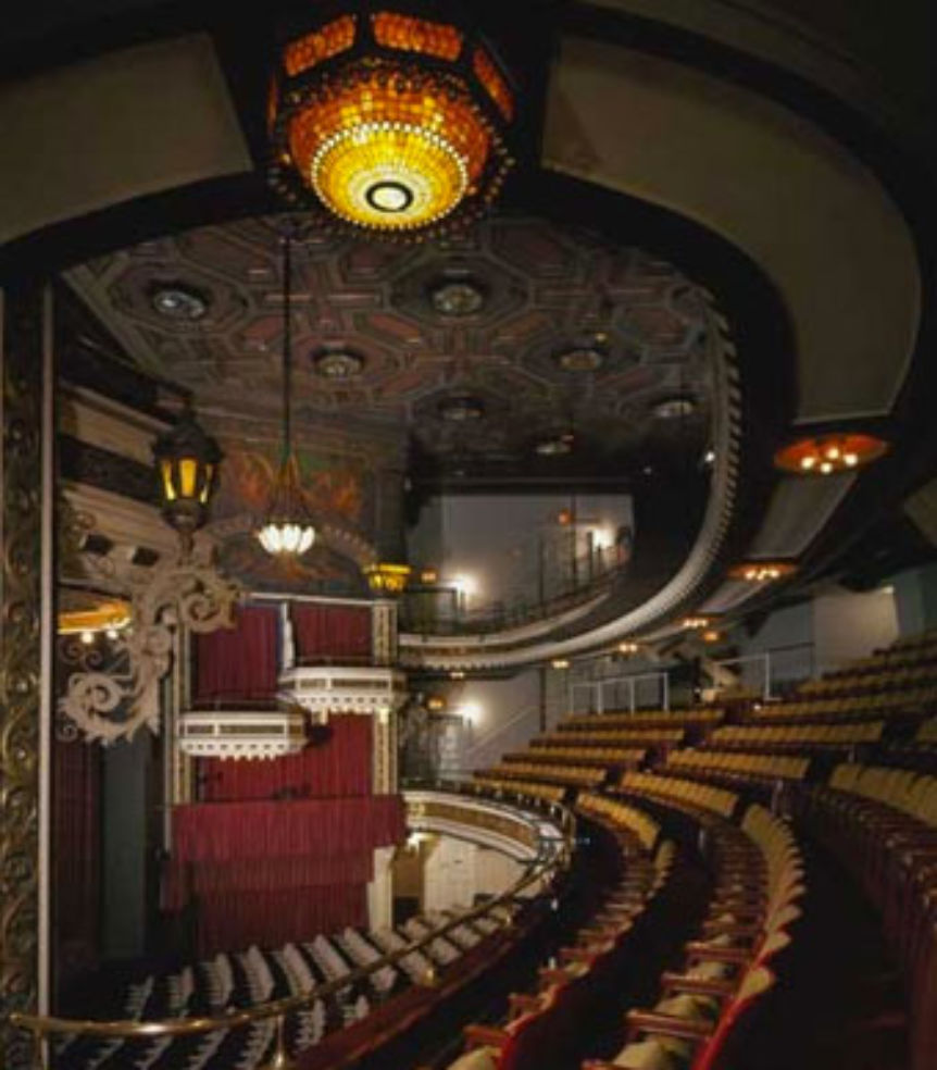 Belasco Theater interior