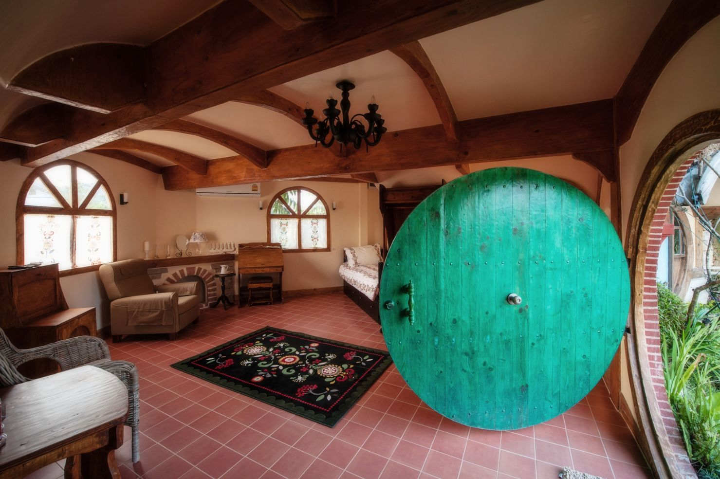 Captivating Michigan Hobbit House Hobbit House Thailand Inside ...