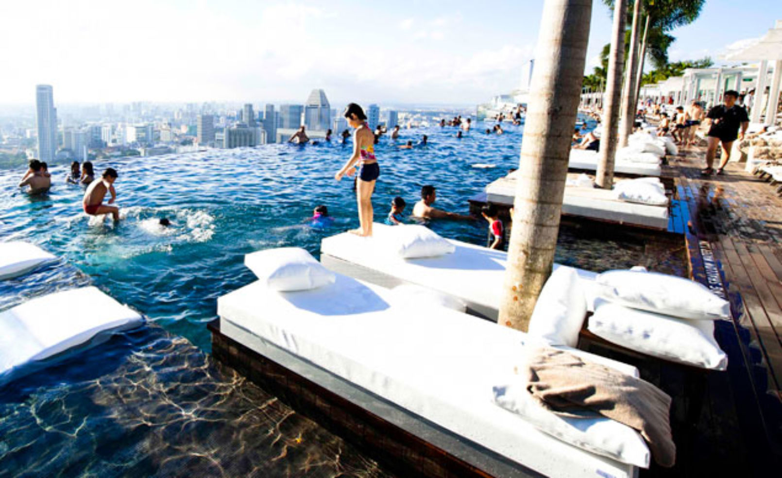 Marina Bay Sands poolchairs