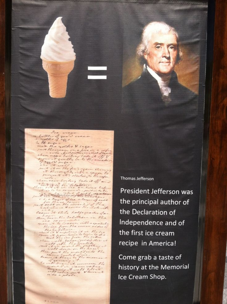 Jefferson Ice Cream at Mount Rushmore
