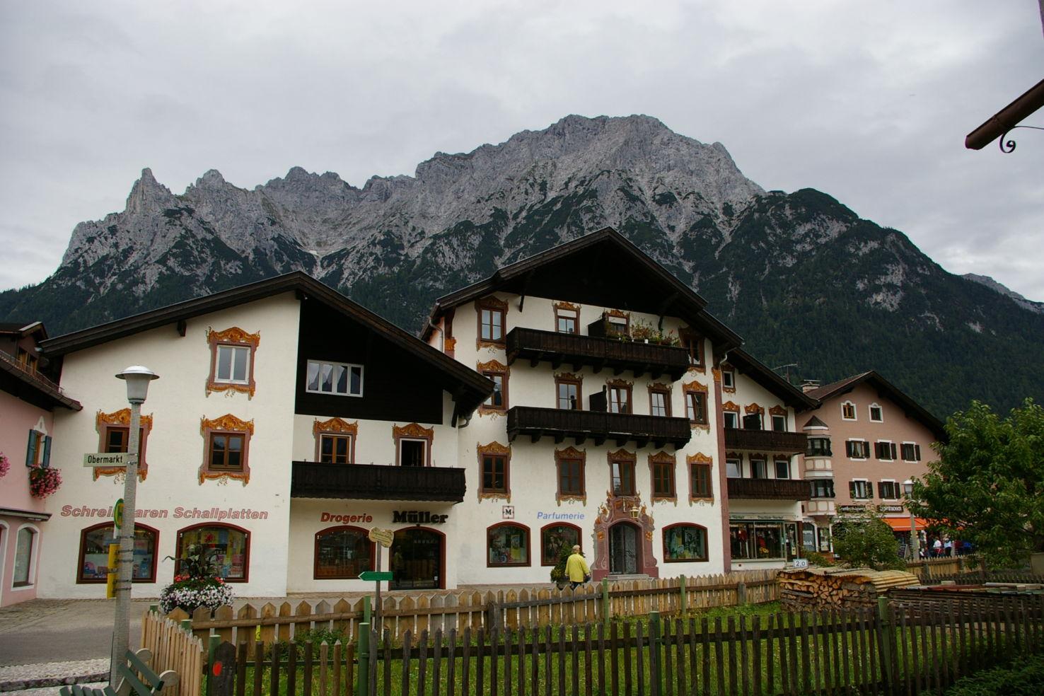 Karwendel Mountain in Mittenwald, Germany