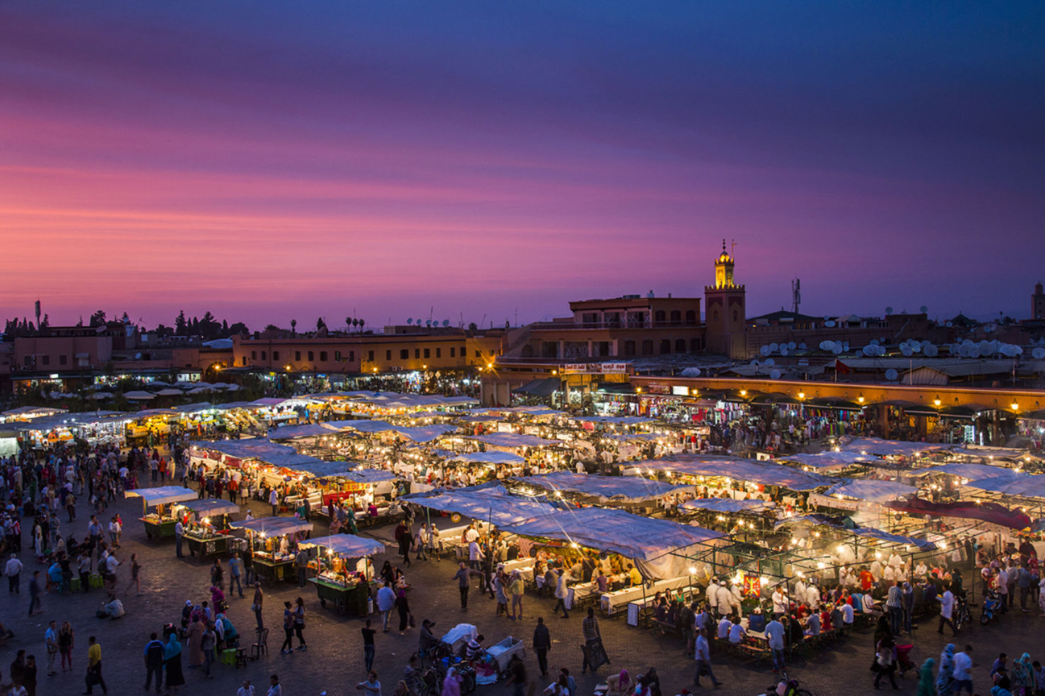 Marrakech's Djemaa el-Fna will delight all your senses