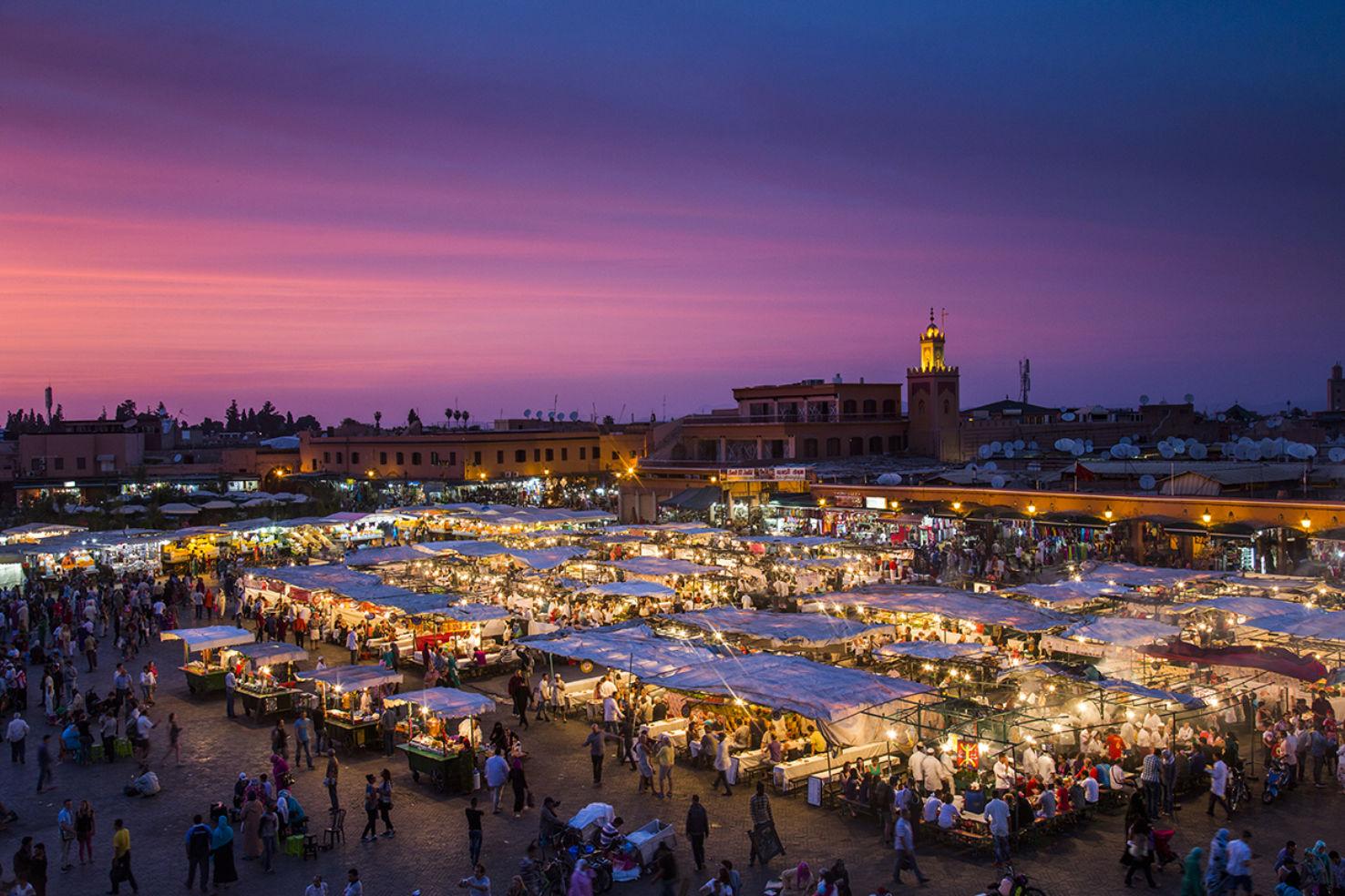 Marrakech's Djemaa el-Fna will delight all your senses