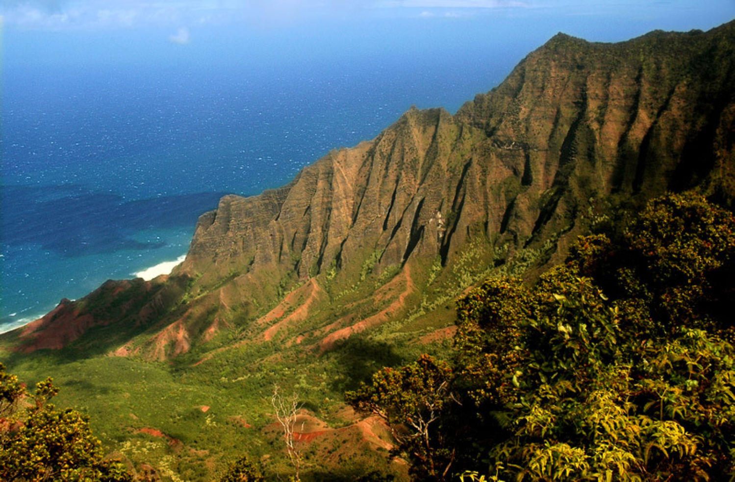 Kalalau Lookout in Kauai