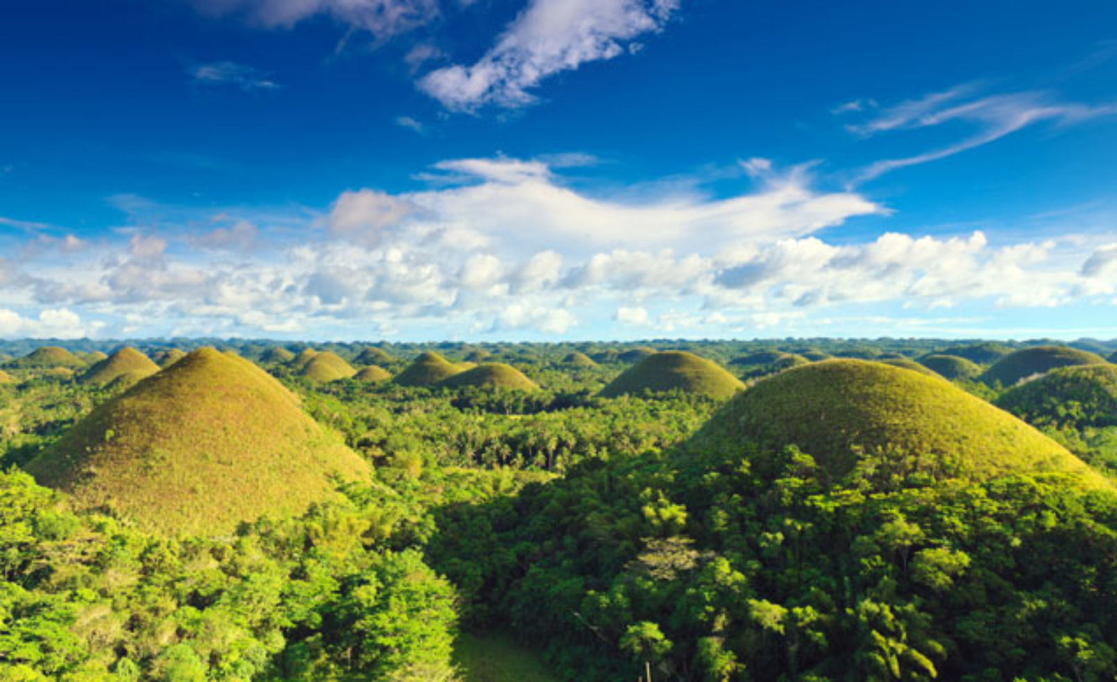 Chocolate Hills view