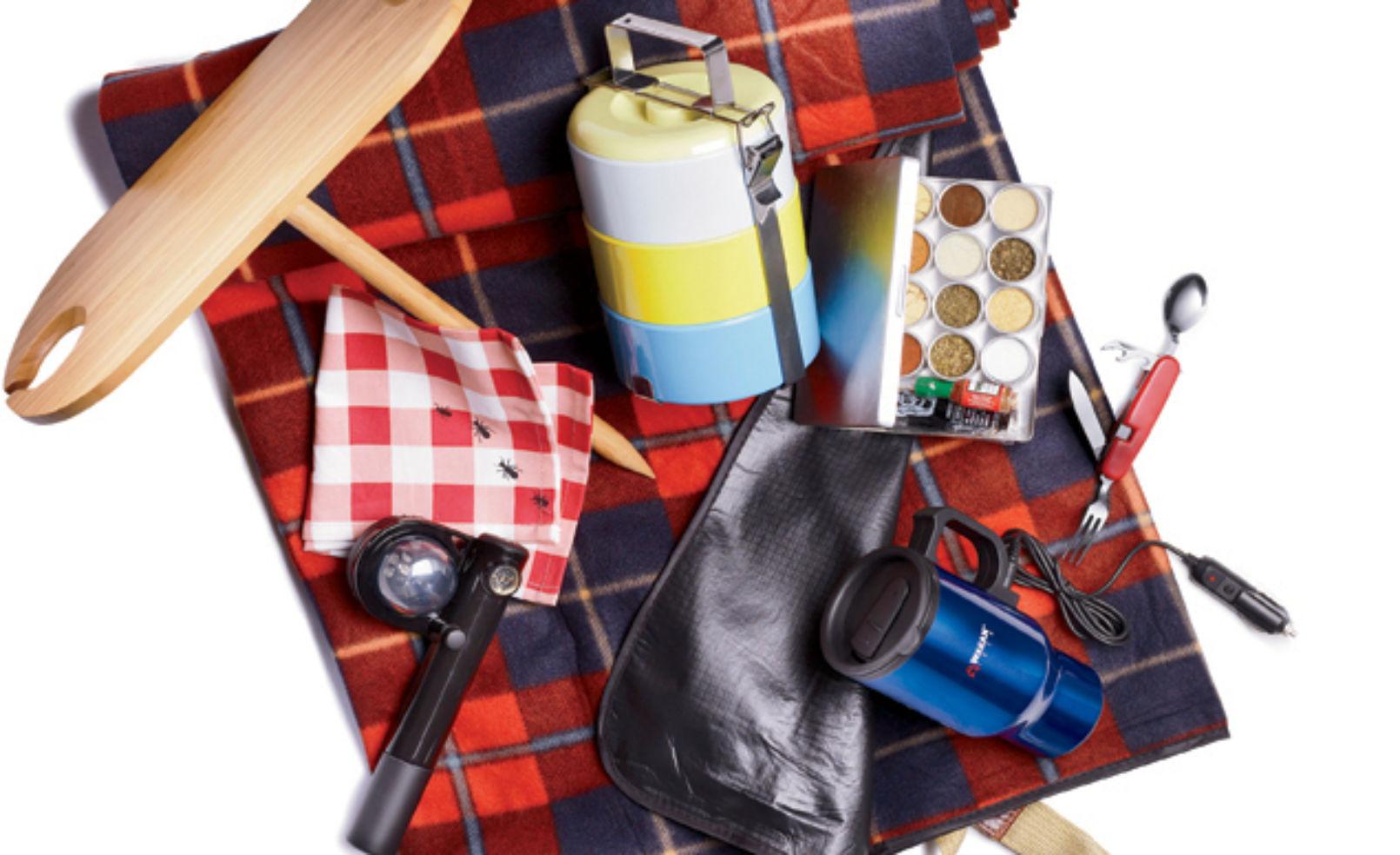 Road trip food gear