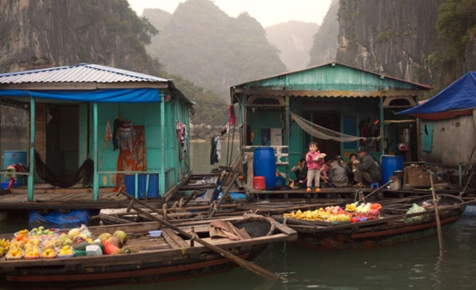 Cua Van fishing village, Vietnam