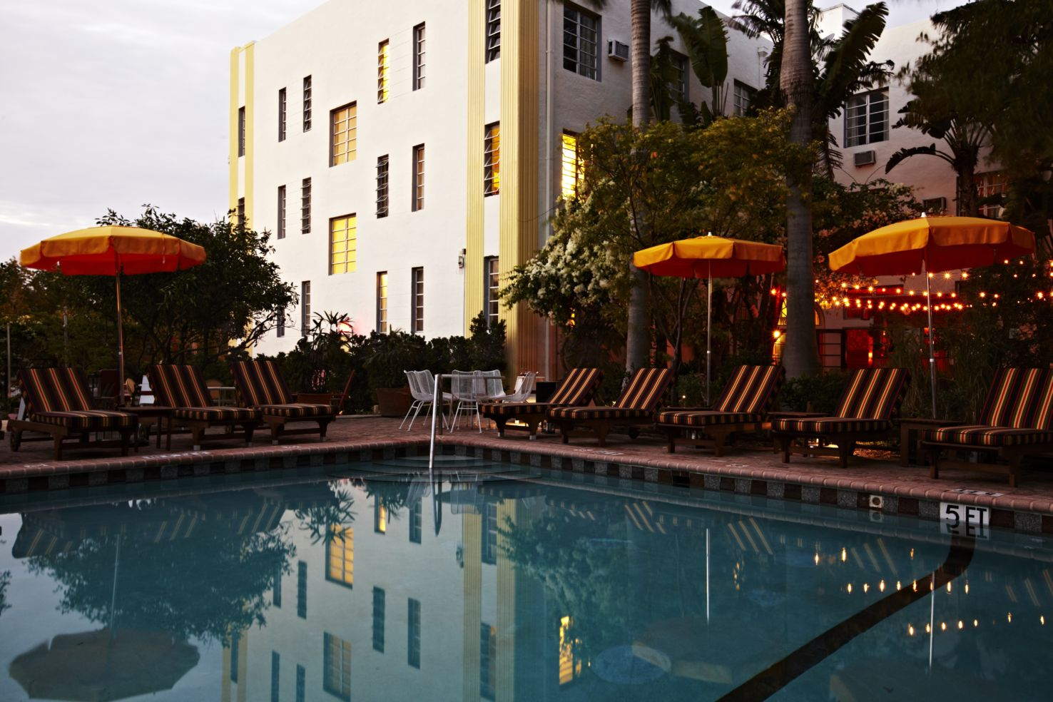 Poolside, Freehand Miami, Florida, hostels