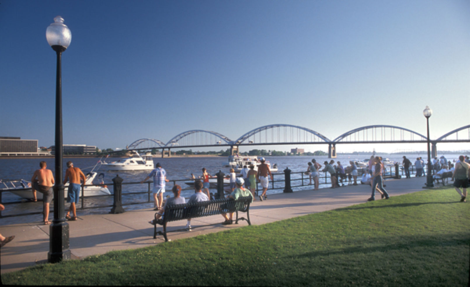 Davenport riverwalk