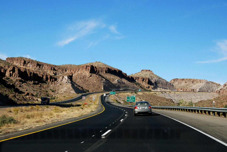 Road tripping through Flagstaff, Arizona