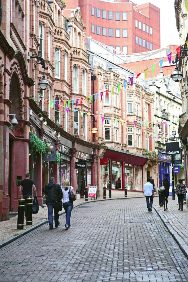 street in Birmingham