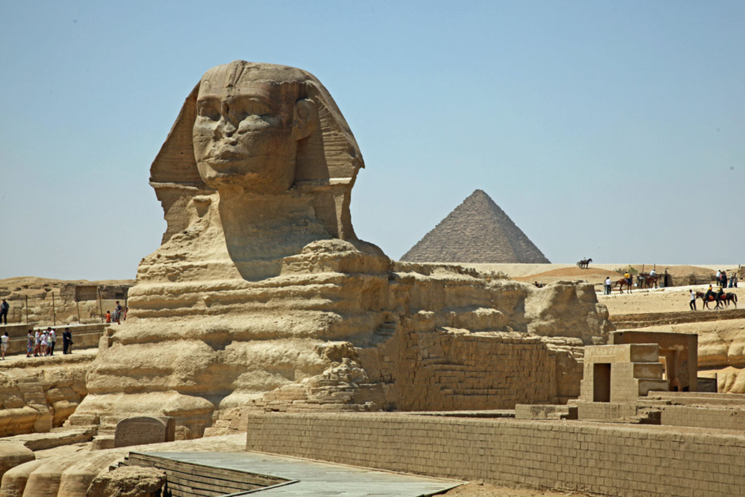 Sphinx at giza in Egypt