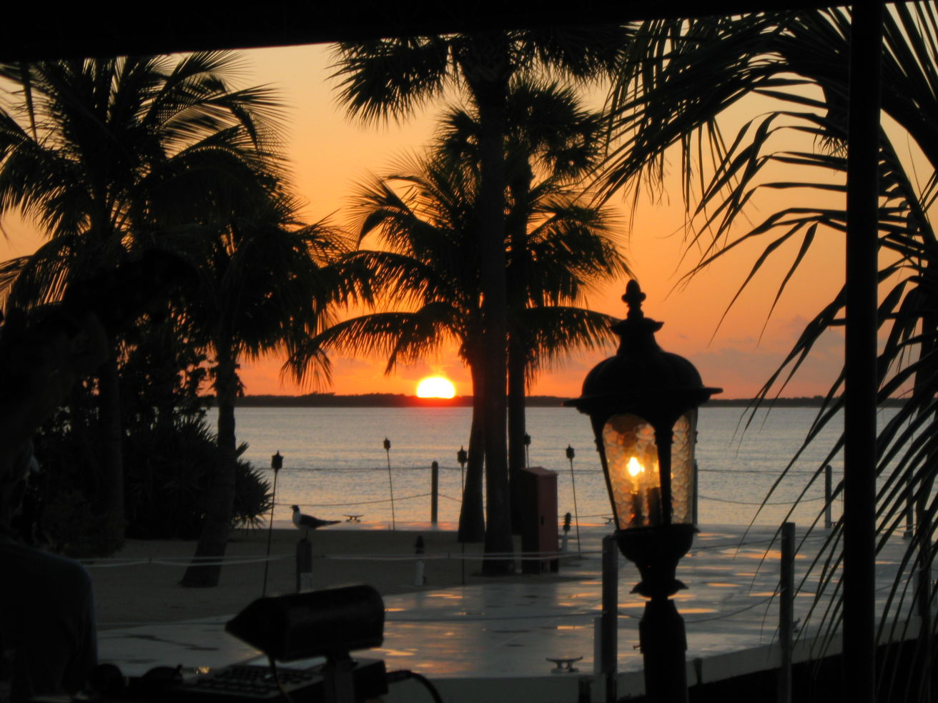 Sunset in Key Largo, Florida
