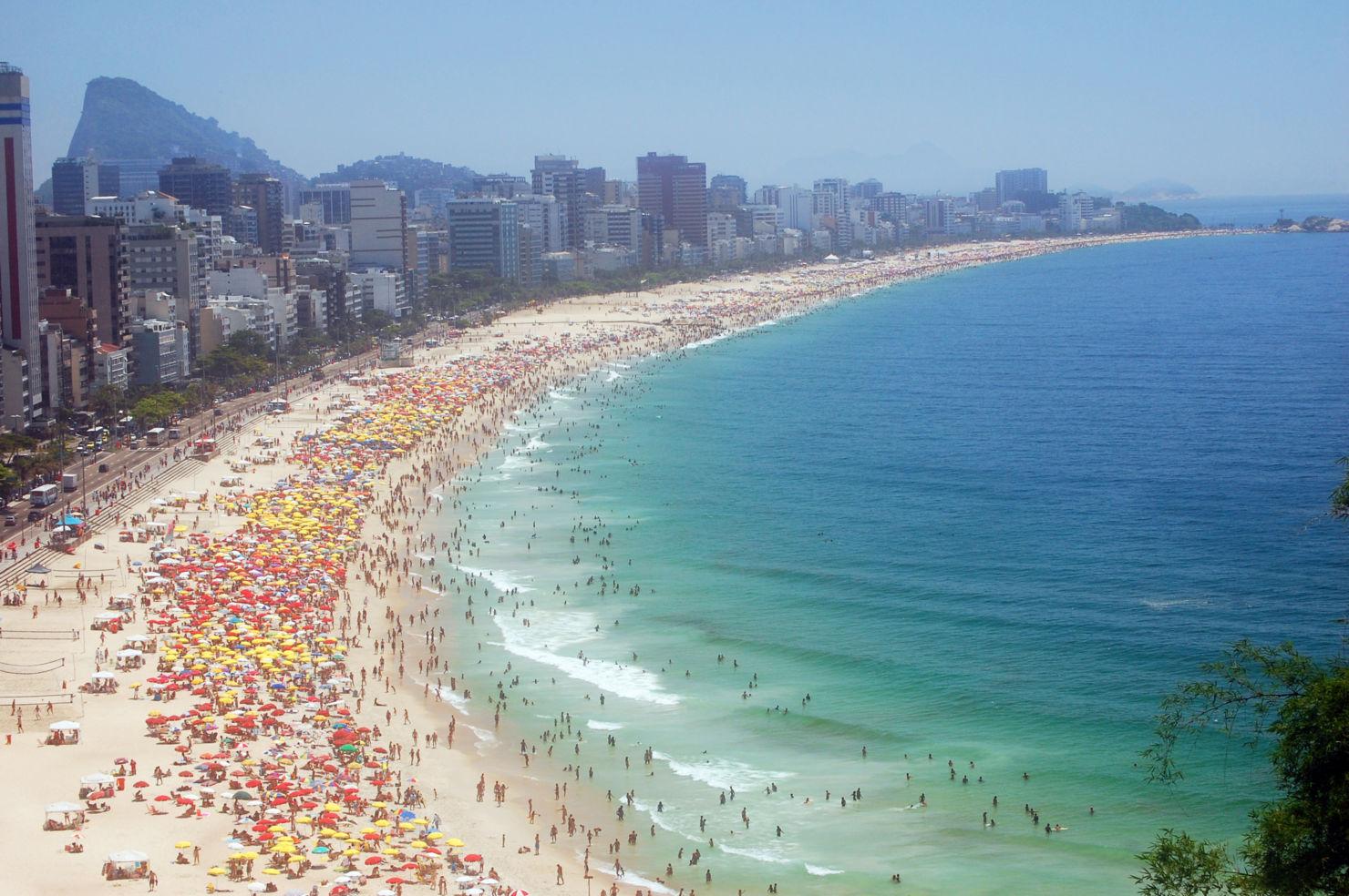 Ipanema and Leblon beach, Rio de Janeiro