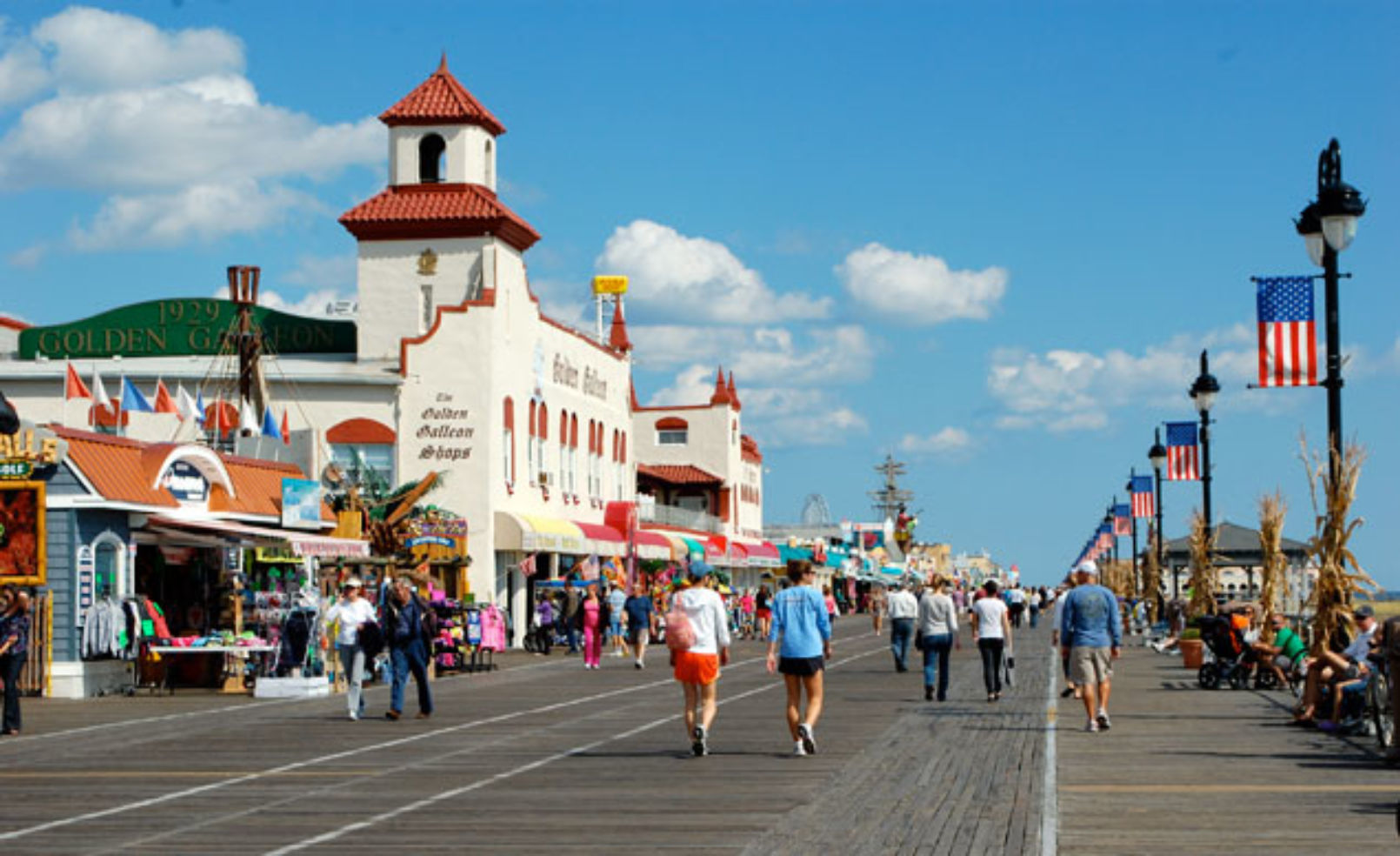 Jersey Shore boardwalk