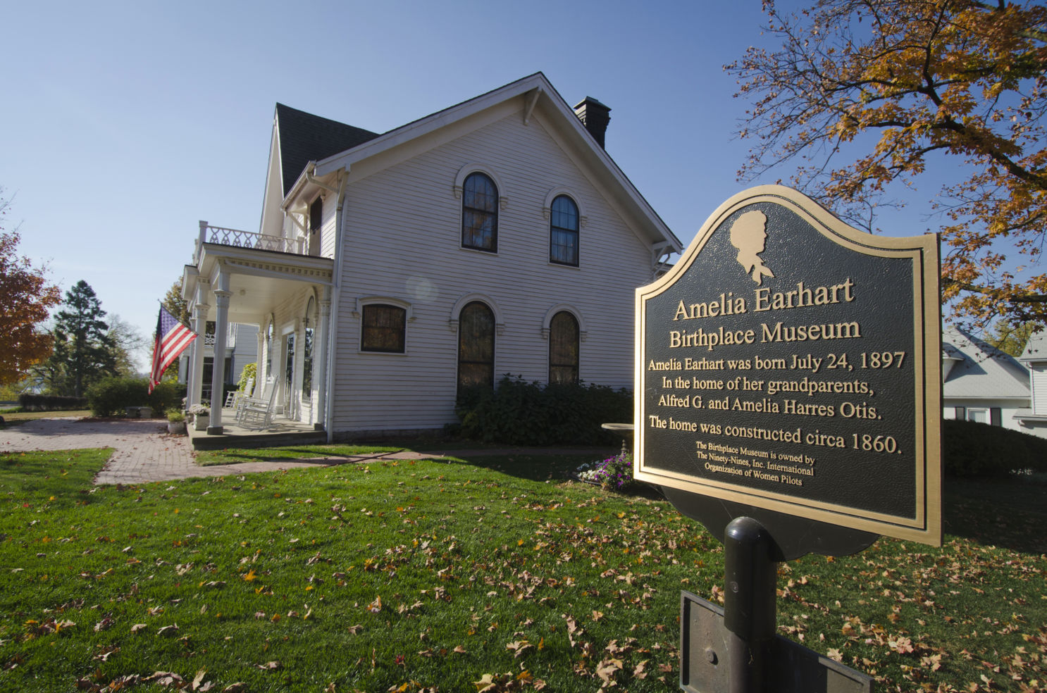 Amelia Earhart Birthplace Museum, Atchison, Kansas