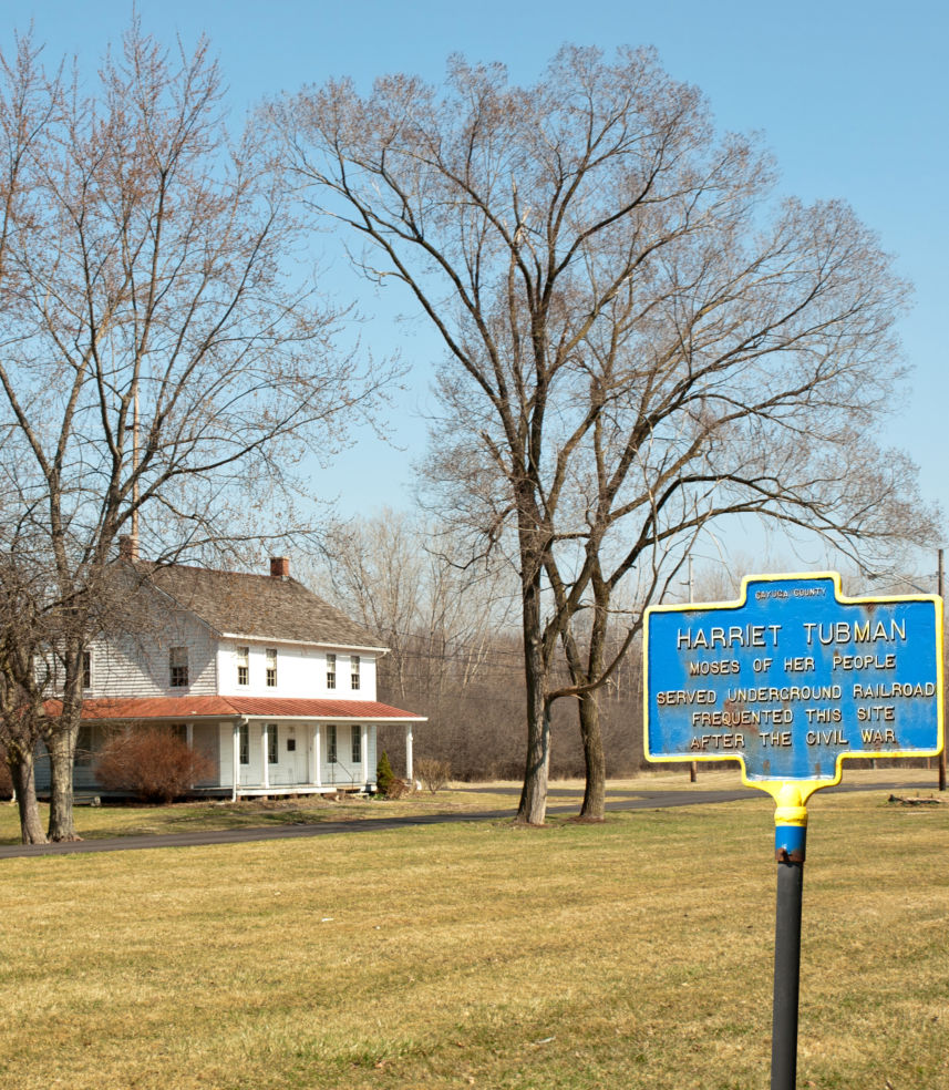 Home of the famous abolitionist and underground railroad heroine, Harriet Tubman. Auburn, NY