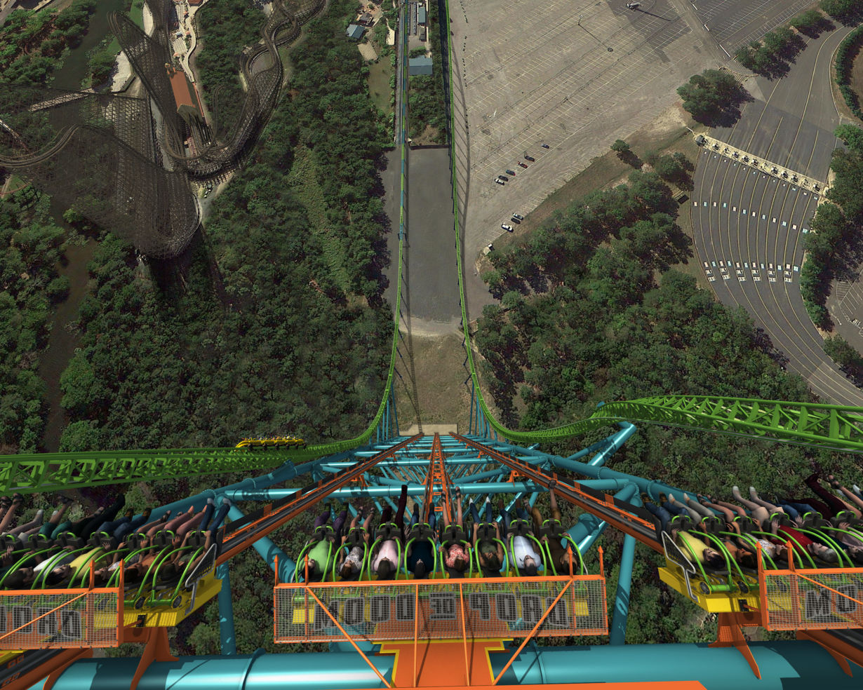 Zumanjaro: Drop of Doom at Six Flags Great Adventure