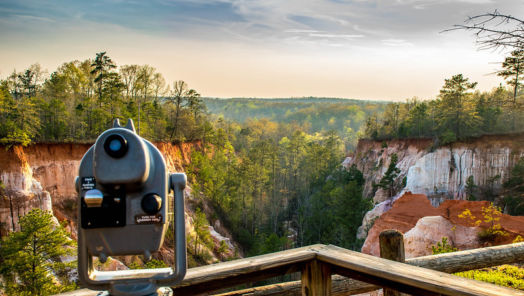 Why you have to see Georgia's 'Little Grand Canyon' tumbnail