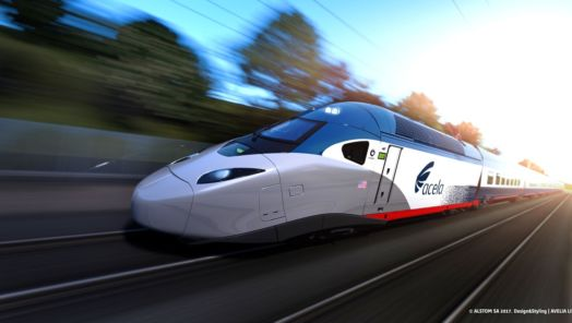 Amtrak unveils new high-speed, low-carbon trains with sleek extras tumbnail