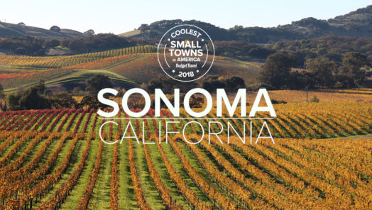 Get to Know Sonoma, CA, One of the Coolest Small Towns in America tumbnail